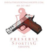 Smith & Wesson 1911 Performance Center DAO 45ACP 4.25? 8+1 Custom Wood G10 Grip Blk