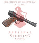 "Ruger Mark IV Target Semi Auto Rimfire Pistol .22 Long Rifle 5.50"" Bull Barrel 10 Rounds"