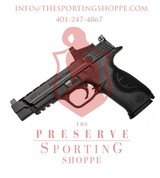 "Smith & Wesson Performance Center M&P 9L CORE Semi Auto Pistol 9mm 5"" Ported Barrel 17 Rounds"