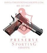"Kimber Custom Crimson Carry II .45 ACP Semi Auto Pistol 5"" Barrel 8 Rounds"