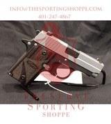 Pre-Owned - Sig Sauer P238 BG .380 ACP Handgun