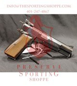 Pre-Owned - Browning Hi-Power .40 Smith & Wesson. Semi-Automatic