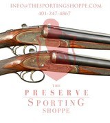 Pre-Owned - Churchill 12 Gauge Shotgun Matching Pair
