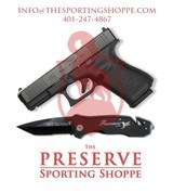 Glock G19 G5 9MM Handgun + Famars Tactical Knife Glock - 1 of 5