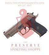 SIG Sauer P226 Emperor Scorpion 9mm Luger Handgun