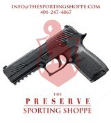 SIG Sauer P320 Nitron Full Size Pistol .40 S&W Handgun