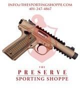 Ruger Mark IV 22/45 Tactical .22 LR Handgun - 1 of 3
