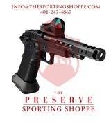 "STI DVC Open 9mm 5"" Bull Barrel Compact Handgun"