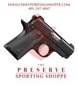 Kimber Micro .380 ACP Black Handgun - 1 of 3