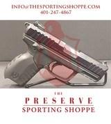 """Pre-Owned - Ruger SR22 .22 LR 3.5"""" Handgun - 1 of 10"""