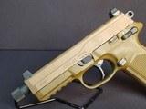 "Pre-Owned - FN FNX-45 ACP Tactical FDE 5.3"" Handgun - 4 of 9"