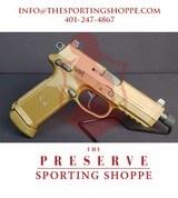"Pre-Owned - FN FNX-45 ACP Tactical FDE 5.3"" Handgun - 1 of 9"