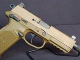 "Pre-Owned - FN FNX-45 ACP Tactical FDE 5.3"" Handgun - 6 of 9"