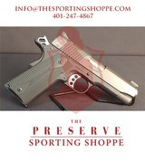 "Pre-Owned - Kimber Pro Carry .45 ACP 4"" Handgun (NRA Edition 591 of 750) - 1 of 9"
