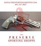 "Pre-Owned - Colt Python .357 Blued 6"" Revolver - 1 of 13"