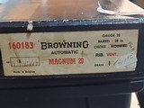 "Pre-Owned - Browning Auto-5 Magnum 20 Gauge 28"" Shotgun (UNFIRED!) - 9 of 10"