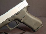 "Pre-Owned - Glock G48 Gen 5 Silver-Back 9mm 4.17"" Handgun - 2 of 14"