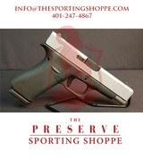 "Pre-Owned - Glock G48 Gen 5 Silver-Back 9mm 4.17"" Handgun - 1 of 14"