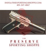 "Pre-Owned - Ruger Target Mark II .22 LR 5.5"" Handgun"