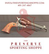 """Pre-Owned - Ruger Single Six .22LR 4.75"""" Revolver"""