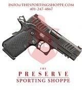 """STI Staccato C-DUO Single Stack 9mm DLC 3.9"""" Handgun"""