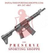 """Springfield SAINT-B5 5.56 Nato 9.6"""" Pistol"""
