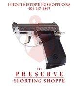 "Taurus 22 POLY DAO 22LR 2.8"" Matte Stainless Steel Pistol"