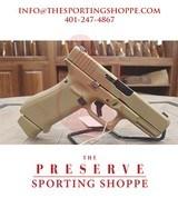 "Pre-Owned - Glock G19X 9mm Coyote 4.02"" Handgun"
