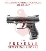 """Walther PPQ Q4 Semi-Auto 9mm 4"""" Steel Frame & Optics Ready Pistol"""