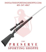 """Remington 700 ADL Bolt Action .243 Win 24"""" Stainless Steel w/Scope Rifle - 1 of 3"""