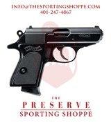 """Walther PPK/S Semi-Auto .380 ACP 3.3"""" Pistol"""