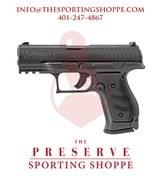 """Walther PPQ Q4 Semi-Auto 9mm 4"""" Steel Frame Pistol"""