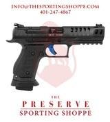 """Walther PPQ Q5 Semi-Auto 9mm 5"""" Match Steel Frame Pistol"""