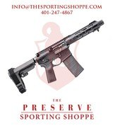 "Springfield Saint Victor Semi-Auto 5.56x45mm 7.5"" AR-15 Pistol"