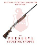 "Browning Maxus Semi-Auto 12 Gauge 30"" 3"" Turkish Walnut Stock Nickeled Aluminum Alloy w/Engraved Receiver - 1 of 3"