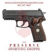 "Sig Sauer P229 Semi-Auto 9MM, 3.9"" Nitron Pistol"