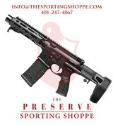 "Daniel Defense DDM4 PDW 300 Blackout 7"" AR Pistol"