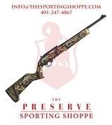 """T/C Arms T/CR22 Semi-Auto 22LR 17"""" Mossy Oak Rifle"""