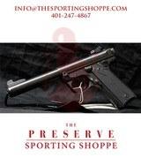 "Ruger Mark IV 22/45 Semi Auto Pistol .22 Long Rifle 5.50"" Bull Barrel 10 Rounds"