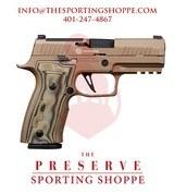 "Sig Sauer P320 AXG Scorpion 9mm 3.9"" Handgun - 1 of 3"
