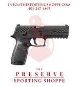 """Sig Sauer Semi-Auto P320 9mm 4.7"""" Handgun"""