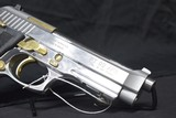 """Pre-Owned - Taurus PT92 SA/DA 9mm 4.75"""" Handgun - 9 of 11"""