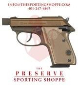 """Beretta Tomcat 3032 FDE SA/DA .32 ACP 2.9"""" Handgun"""