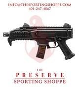 "CZ-USA Scorpion EVO 3 S1 Black Semi-Auto 9mm 7.75"" Handgun"