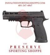 "SIG 320 AXG PRO Semi-Auto 9mm 4.7"" Handgun"