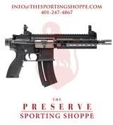 "Heckler & Kotch HK416 Semi-Auto .22 LR 8.5"" Handgun"