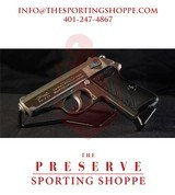 "Pre-Owned - Walther PPK/S Interarms Semi-Auto .380/9mm KVZ 3.3"" Handgun"