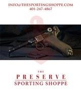 """Pre-Owned - 1916 Erfurt WW1 9mm Luger 4"""" Handgun"""