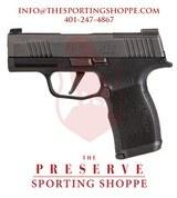 """Sig Sauer P365X Semi-Auto 9mm 3.1"""" Handgun - 1 of 3"""