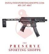 "SIG MPX Semi-Auto 9mm 4.5"" Handgun"